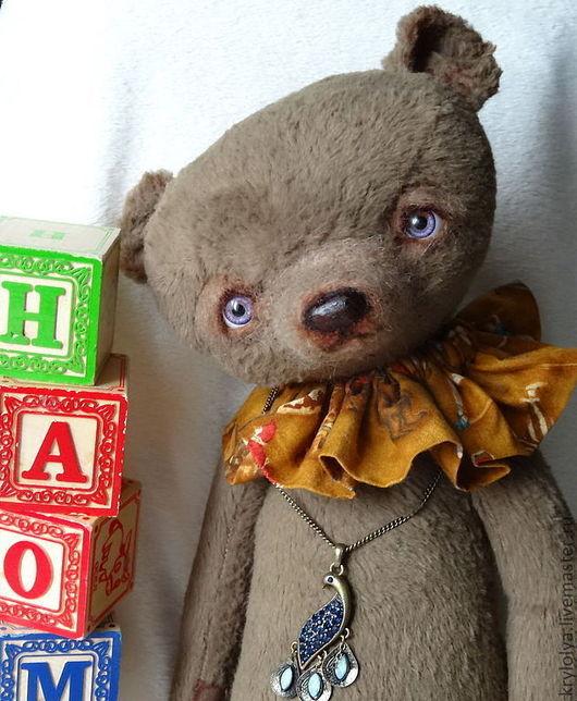 Мишки Тедди ручной работы. Ярмарка Мастеров - ручная работа. Купить Мишка авторский.Наоми,40 см. Handmade. Коричневый