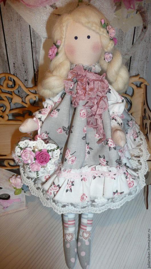 Куклы Тильды ручной работы. Ярмарка Мастеров - ручная работа. Купить Аришка, куколка текстильная!!!. Handmade. Розовый, кукла Тильда