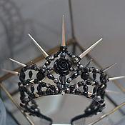 """Диадемы ручной работы. Ярмарка Мастеров - ручная работа Корона """"Шипы и розы"""". Handmade."""