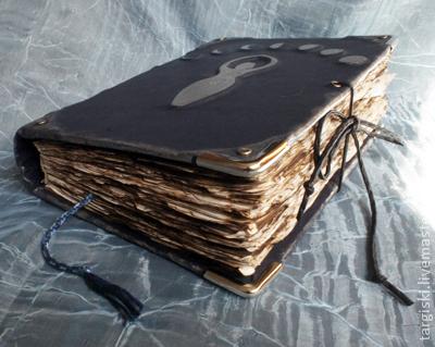 Эзотерические аксессуары ручной работы. Ярмарка Мастеров - ручная работа. Купить Книга теней с символом Богини. Handmade. Тёмно-синий