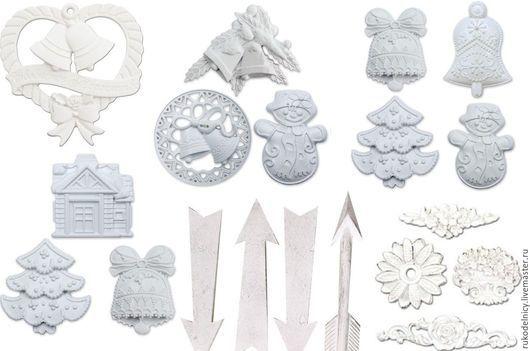 Набор гипсовых украшений- на следующем фото вы можете посмотреть коллекции по номерам и указать их при оформлении вашего заказа .