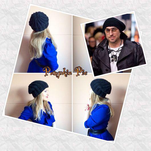 """Шапки ручной работы. Ярмарка Мастеров - ручная работа. Купить Мужская шапка """"Нагиев Стайл"""". Handmade. Черный, шапка"""