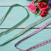 Материалы для творчества handmade. Livemaster - original item braid jacquard Loop. Handmade.