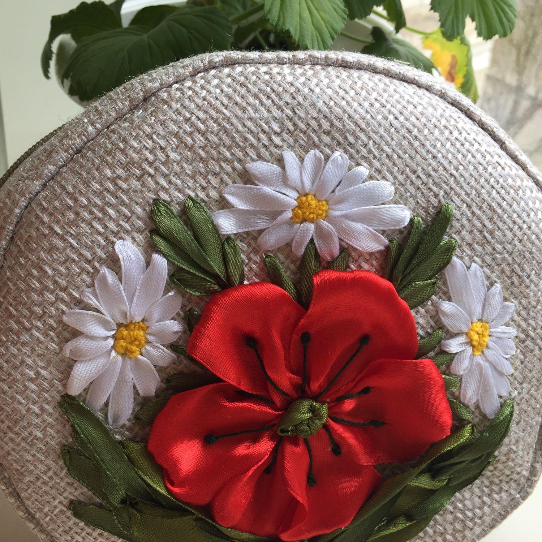 Сумка круглая кросс-боди «Очарование», Классическая сумка, Астрахань,  Фото №1