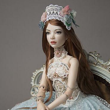 Куклы и игрушки ручной работы. Ярмарка Мастеров - ручная работа Куклы: Шарнирная кукла: Шарнирная кукла: фарфоровая Нина.. Handmade.