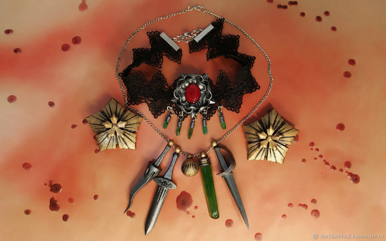 Комплект  украшений дочерей леди Димитреску Resident Evil Village, Комплекты украшений, Санкт-Петербург,  Фото №1