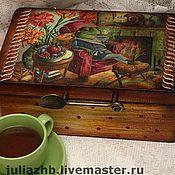Houses handmade. Livemaster - original item Shkatulka tea