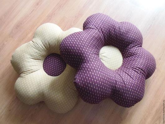 Текстиль, ковры ручной работы. Ярмарка Мастеров - ручная работа. Купить Декоративные подушки Цветы. Handmade. Бордовый