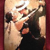 Картины и панно ручной работы. Ярмарка Мастеров - ручная работа Танго, панно на дереве. Handmade.