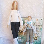 Куклы Тильда ручной работы. Ярмарка Мастеров - ручная работа Тильда семья. Handmade.