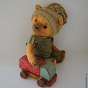 """Куклы и игрушки ручной работы. Ярмарка Мастеров - ручная работа Потап """"Мишки и игрушки""""ПРОДАН. Handmade."""