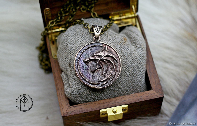 """Ведьмак """"The Witcher"""", Медальон, Тольятти,  Фото №1"""