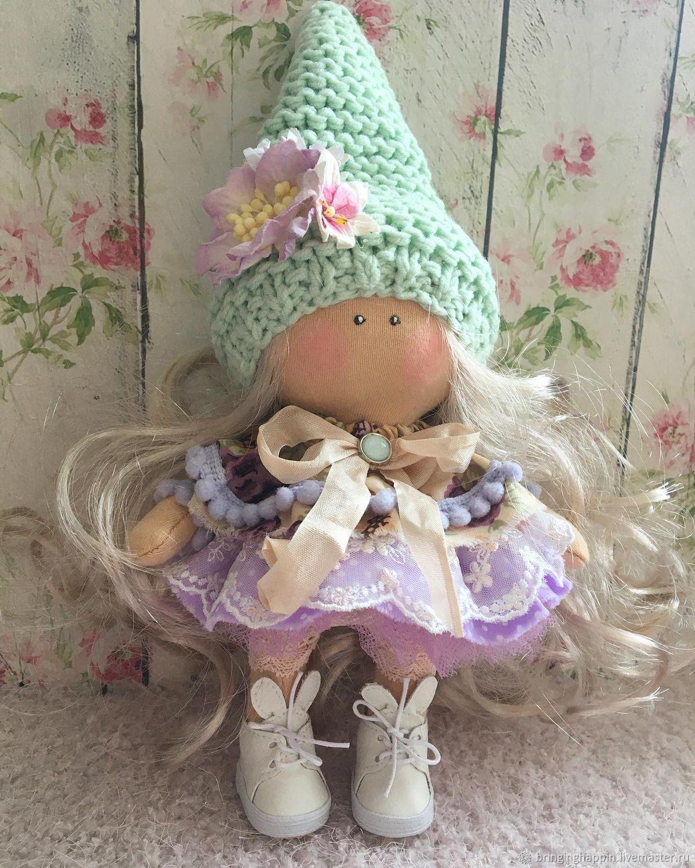 Кукла интерьерная, Тыквоголовка, Ванино,  Фото №1
