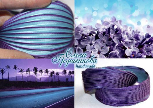 Лента шибори №16 Фиолетовый сон