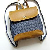 Сумки и аксессуары handmade. Livemaster - original item Designer backpack