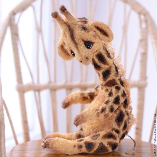 Мишки Тедди ручной работы. Ярмарка Мастеров - ручная работа. Купить Жираф Санни. Handmade. Разноцветный, игрушка, катя беспалова