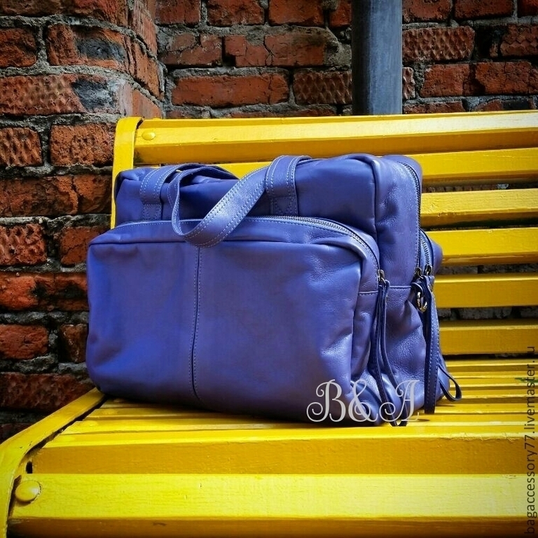 Sports bag made of genuine leather, Sports bag, Moscow,  Фото №1