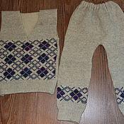 Одежда ручной работы. Ярмарка Мастеров - ручная работа Костюм детский шерстяной. Handmade.