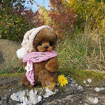 Куклы и игрушки ручной работы. Ярмарка Мастеров - ручная работа Мишка тедди из серии Облачек. Handmade.
