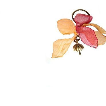 Accessories handmade. Livemaster - original item Autumn, fall, leaves come ask... Key chain. Handmade.