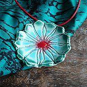 """Украшения ручной работы. Ярмарка Мастеров - ручная работа Подвеска """"Fairy flower"""", керамика ручной работы. Handmade."""