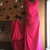 Одежда ручной работы. Ярмарка Мастеров - ручная работа Платье в пол  вечернее  русалка. Handmade.