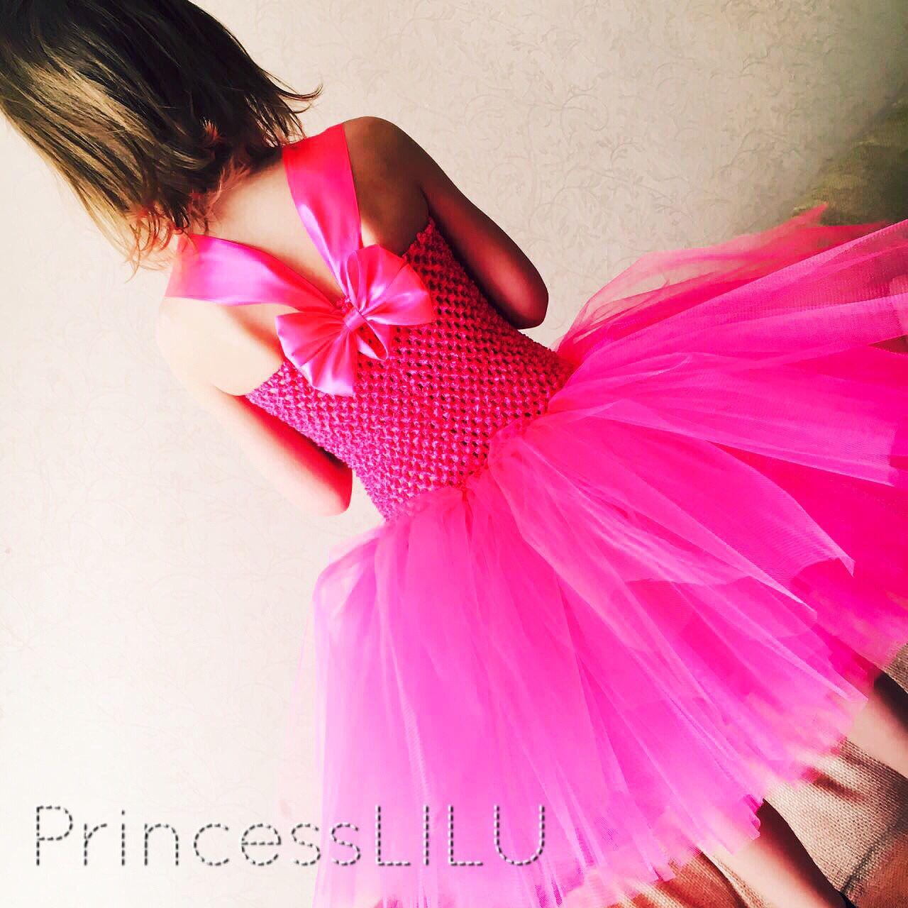 Платье туту из фатина