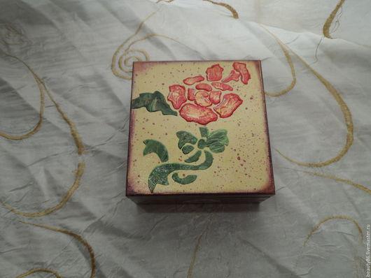 Шкатулки ручной работы. Ярмарка Мастеров - ручная работа. Купить шкатулка, Роза. Handmade. Комбинированный, подарок, подарок подруге, бархат