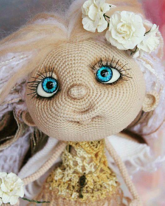 Человечки ручной работы. Ярмарка Мастеров - ручная работа. Купить Ангел вязаный интерьерная кукла. Handmade. Ангел, кукла в подарок