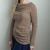 Одежда ручной работы. Ярмарка Мастеров - ручная работа Асимметричный джемпер. Handmade.