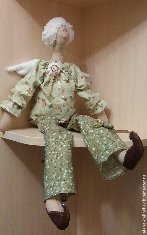 Куклы Тильды ручной работы. Ярмарка Мастеров - ручная работа. Купить Тильда Фея беременных.. Handmade. Тильда ангел, для беременных