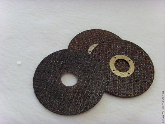 Другие виды рукоделия ручной работы. Ярмарка Мастеров - ручная работа. Купить Абразивный диск для болгарки. Handmade. Черный