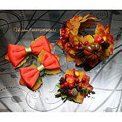 Украшения ручной работы. Ярмарка Мастеров - ручная работа Украшения на праздник осени. Handmade.