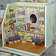 Кукольный дом ручной работы. Ярмарка Мастеров - ручная работа. Купить Лавандовая лавка 2. Handmade. Миниатюра, дерево