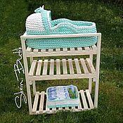 Работы для детей, ручной работы. Ярмарка Мастеров - ручная работа Подставка под люльку для новорожденного. Handmade.