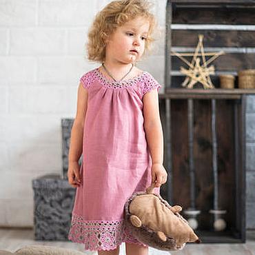 """Работы для детей, ручной работы. Ярмарка Мастеров - ручная работа Платье для девочки  2 - 4 года """"Розовые сны"""". Handmade."""