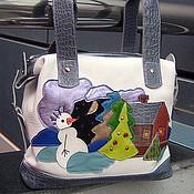 Сумки и аксессуары handmade. Livemaster - original item Bag Snowman.. Handmade.