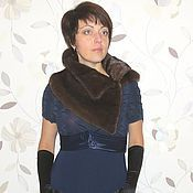 Одежда ручной работы. Ярмарка Мастеров - ручная работа Накидка из норки. Handmade.
