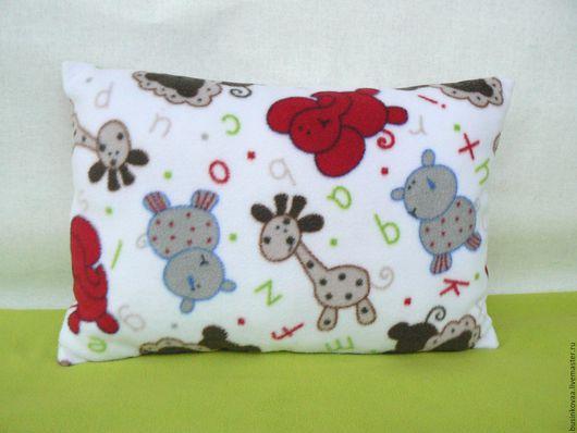 Детский плед и подушка. Комплект для детской комнаты. Плед из флиса. Подушка. Для детской комнаты. Плед для ребенка.