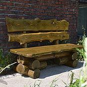 Для дома и интерьера ручной работы. Ярмарка Мастеров - ручная работа Скамейка для загородного дома. Handmade.