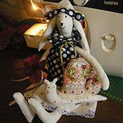 Куклы и игрушки ручной работы. Ярмарка Мастеров - ручная работа Крольчиха Зоя. Handmade.