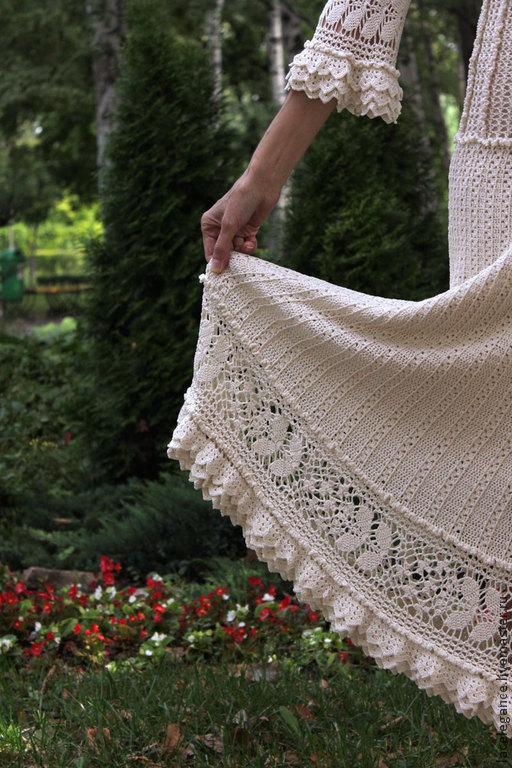 Платья ручной работы. Ярмарка Мастеров - ручная работа. Купить Camellia-Charlotte. Handmade. Белый