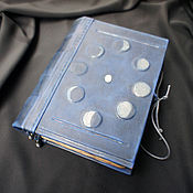 """Гримуар ручной работы. Ярмарка Мастеров - ручная работа Книга теней """"Фазы луны"""" (на заказ). Handmade."""