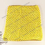 Материалы для творчества ручной работы. Ярмарка Мастеров - ручная работа Топ средний, желтый, 4003. Handmade.