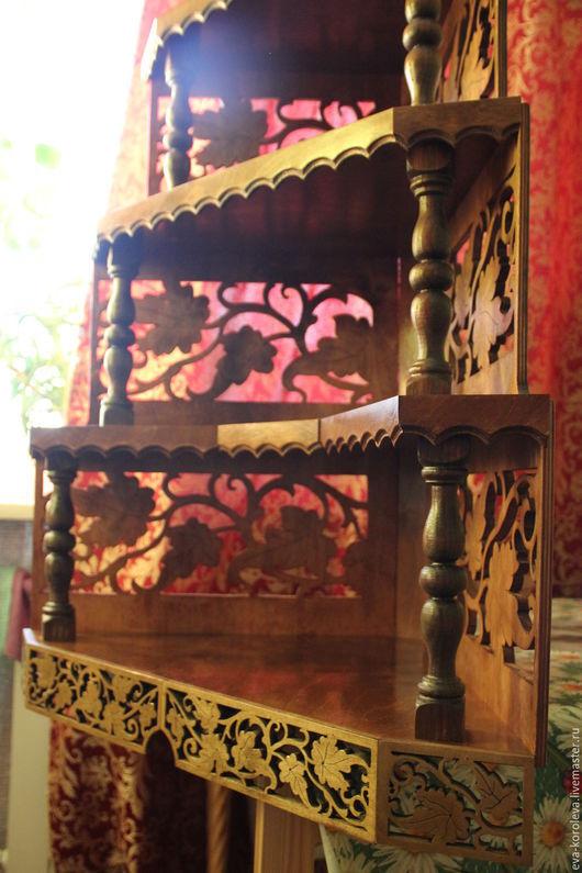 Мебель ручной работы. Ярмарка Мастеров - ручная работа. Купить Иконостас. Handmade. Коричневый, крест