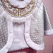 Работы для детей, ручной работы. Ярмарка Мастеров - ручная работа Костюм Снегурочки - 2  детский новогодний карнавальный. Handmade.
