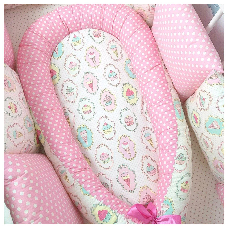 Кокон (гнездышко) для новорождённого, Текстиль, Москва, Фото №1