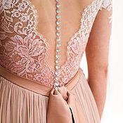 Свадебный салон ручной работы. Ярмарка Мастеров - ручная работа Свадебное платье для беременной. Handmade.