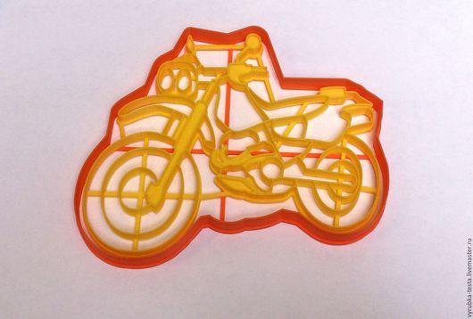 Кухня ручной работы. Ярмарка Мастеров - ручная работа. Купить Мотоцикл (HondaXR250 Baja) - вырубка для печенья, пряников, мастики. Handmade.