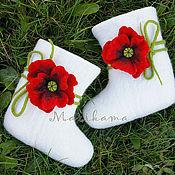 """Обувь ручной работы. Ярмарка Мастеров - ручная работа Валенки детские """"Ариша"""". Handmade."""